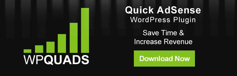 WP Quads Advertising WordPress Plugin