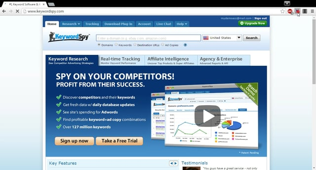 Keyword Spy affiliate marketing tools