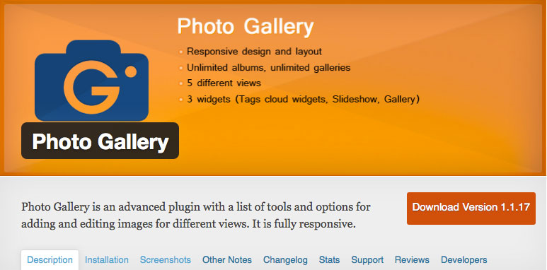 photo gallery wordpress plug in